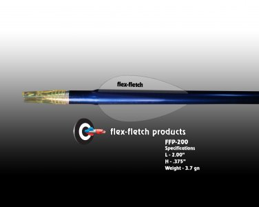 FFP-200 Phantom Flex-Fletch Premium vanes archery vanes target archery hunting flex fletch