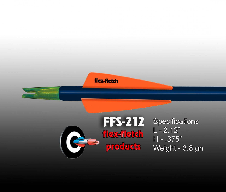 Winners Gold FFS-212 Flex-Fletch Premium vanes archery vanes target archery hunting flex fletch