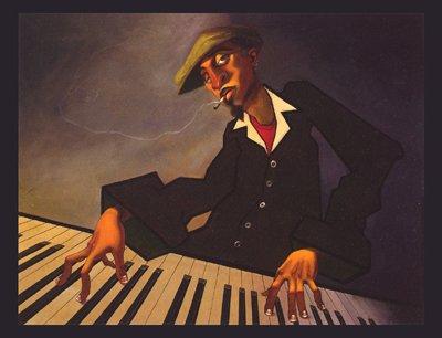 Piano Man II by Justin Bua