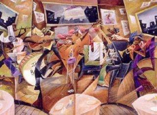 """Frank Morrison Limited Edition Fine Art Print:""""Soul Cafe"""""""