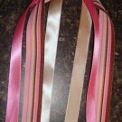 "NEW 9"" PINK BROWN PONY O STEAMERS GIRLS HAIR BOW WOW!"