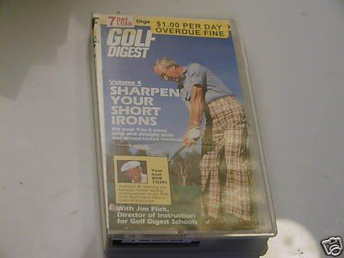 Golf Digest - V. 4 - Sharpen Your Short Irons (VHS)