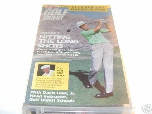 Golf Digest - V. 9 - Hitting the Long Shots (VHS)