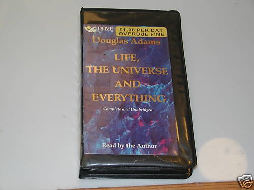 Life, the Universe and Everything/Audio Cassette by ...