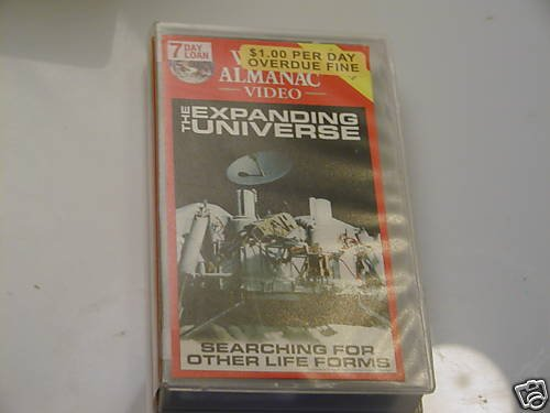 The Expanding Universe: The Planets VHS