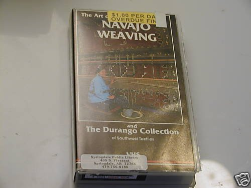 THE ART OF NAVAJO WEAVING AND THE DURANGO COLLECTION VH