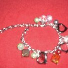 Crystal stones with hearts Bracelet