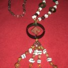 Beautiful Necklace with jade stones