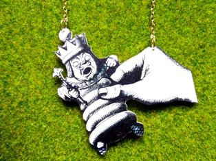 White King Necklace