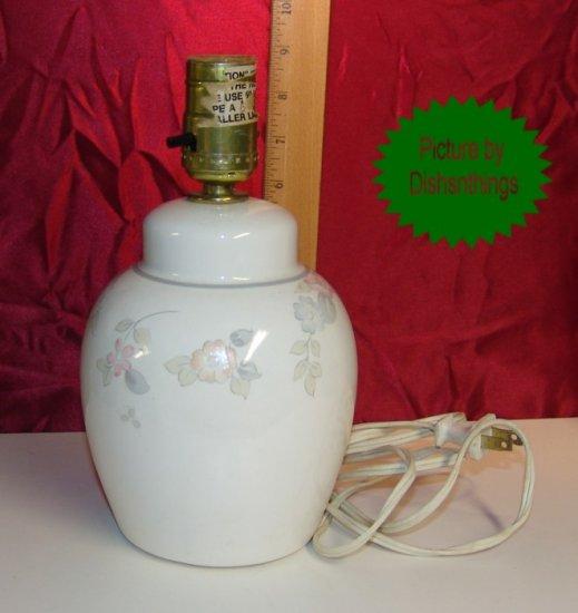 Pfaltzgraff WYNDHAM Ginger/Dresser Electric Lamp USA!
