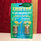 "AANRAKU 1"" ULTRA FINE Glass Grinder Bit TWOFER Pack NIB"