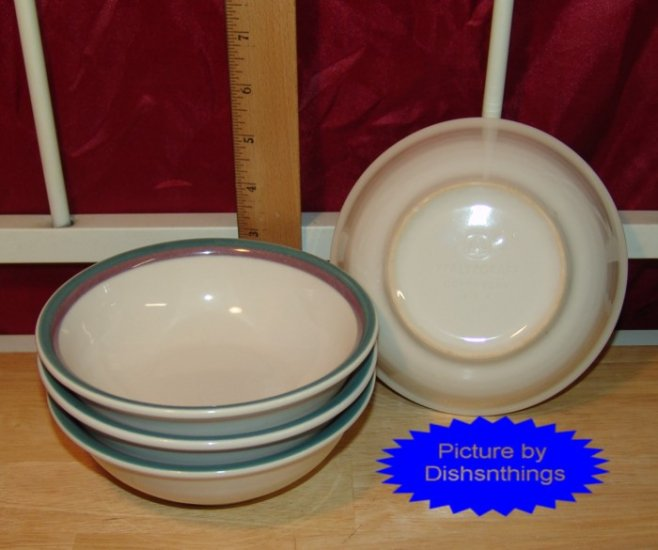 Pfaltzgraff JUNIPER Reg Cereal Bowls (4) NICE! USA!!