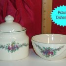 Pfaltzgraff HOLLY JOY Lidded Sugar and Berry USA MINT!