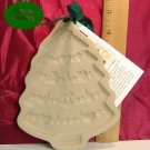 Brown Bag Art 1986 Christmas Tree Cookie Press w/ Book