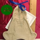 Brown Bag Art 1986 Boy Doll Cookie Press with Book