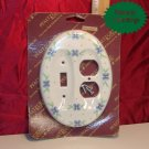 Pfaltzgraff SUMMER BREEZE Plug & Switch Plate Cover NIB