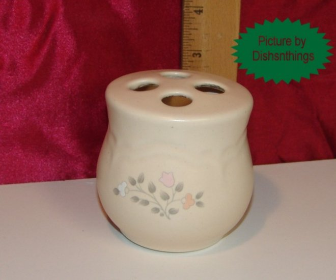 Pfaltzgraff REMEMBRANCE Stoneware Toothbrush Holder USA