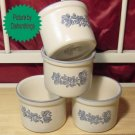 Pfaltzgraff YORKTOWNE FOUR 3 inch Dip Crocks MINT USA