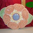 Pfaltzgraff Portfolio Flower Trivet Hanging USA MINT!