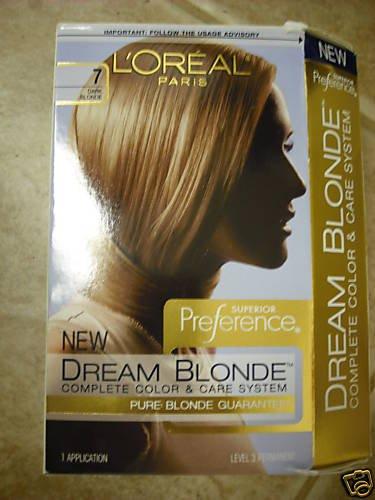 LOT OF 5 NEW LOREAL DREAM BLONDE. 7 DARK BLONDE