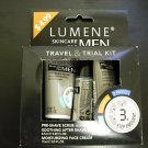 LOT OF 4 LUMENE SKIN CARE FOR MEN TRAVEL & TRIAL KIT