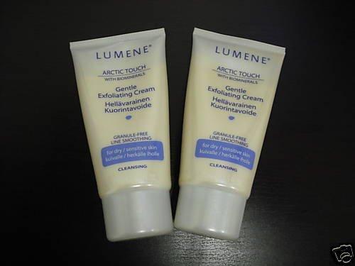 6x Lumene Artic Touch Gentle Exfoliating Cream