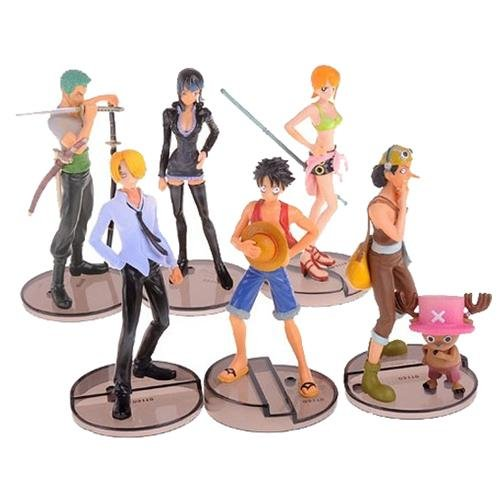 One Piece Display Model:Straw Hat Pirates 6 in 1