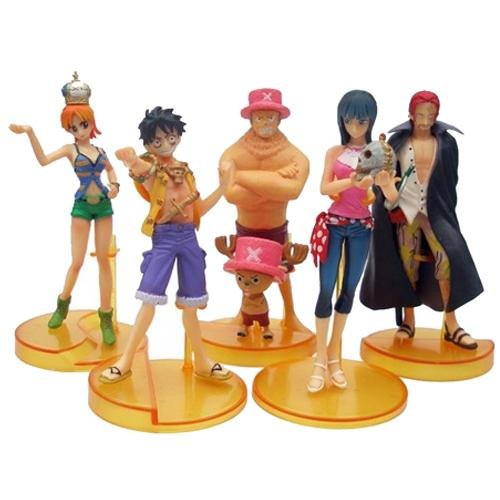 Portrait of Pirates Display Model-5 in1