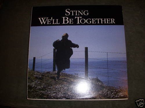 STING - WE'LL BE TOGETHER -A&M LP - VG++