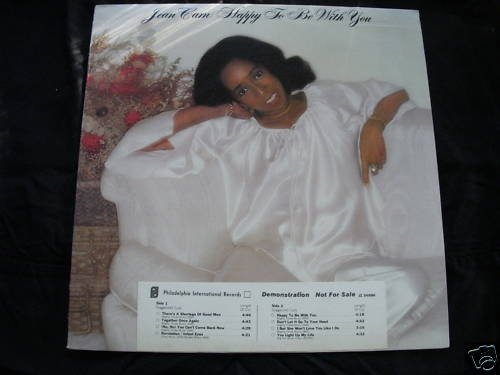 JEAN CAM - HAPPY TO BE WITH YOU - PHILA INTL PROMO -
