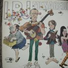 LBJ MENAGERIE - RARE COMDEY LP - JUBILEE RECORDS-