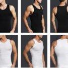 Men Body Shaper Black, XxLarge,Slimming Men Waist Cincher,Men Compression Shirt,Slimming Shirt