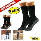 35 Below Socks 3 pair - Large - Black