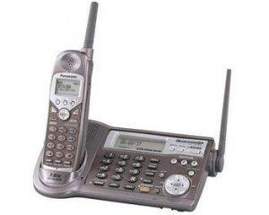PANASONIC PANASONIC 5.8 GHZ CORDLESS PHONE SYSTEM WITH DIGITAL ANSWERING SYSTEM.