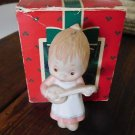 Collectible Hallmark Betsey Clark Hand Painted Porcelain Keepsake Ornament 1984