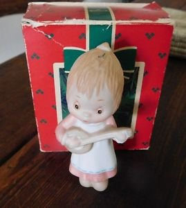 Collectible Hallmark Betsey Clark Hand Painted Porcelain Keepsake Ornament 1984