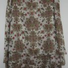 3 layer sheer overlay skirt size 8 NICOLE MILLER in good condition
