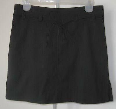LN MY MICHELLE cute sexy hot black mini skirt size 9/10 LIKE NEW