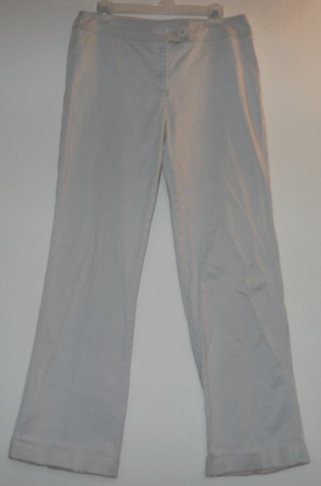 WESTBOUND STRETCH pale blue slacks pants size 12 gorgeous