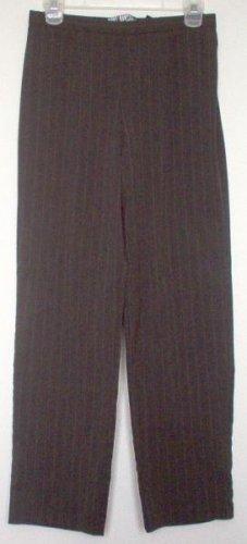 Requirements Petite pinstripe gray pants slacks size 8p