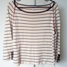 GORGEOUS CHRISTOPHER AND BANKS striped sweater like new condition in size large