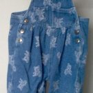 denim ARIZONA overalls with cute bear design size 6-9 months excellent condition