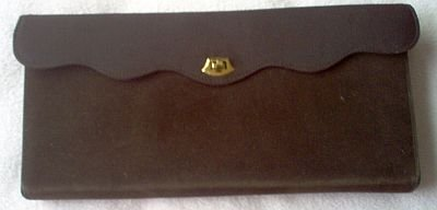 excellent condition A Madison Creation brown clutch purse cute handbag
