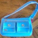 brand new baby blue LEI purse NWT bag cute L E I trendy handbag