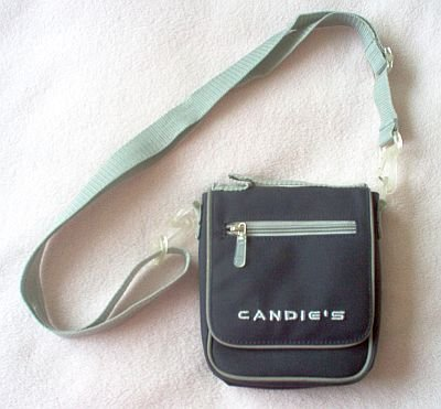 CANDIE'S messenger sling bag backpack in like new condition