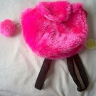 brand new fuzzy pink sparkly Kelly's Collection Berkeley's Designs bag NWT backpack