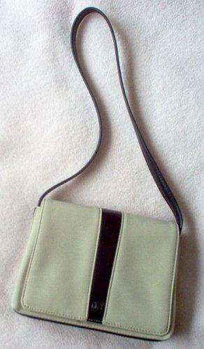 NWOT CITY DKNY handbag purse tan black brand new bag