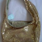NWT gold sequin sling purse bag NOBO lightweight brand new