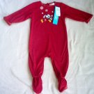 NWT Disney Mickey Christmas sleeper 18 mos monthsE brand new