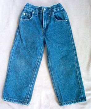 Faded Glory size 4 jeans LIKE NEW regular fit wash